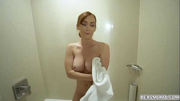 Hot stepmom Dani Jensen was caught by her stepson pleasuring her self in the bathtub and ended up doggystyle fucking with him