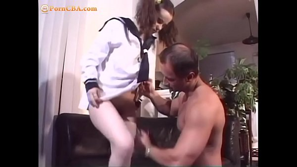 Scoolgirl getting her hairy cunt fucked hard an...