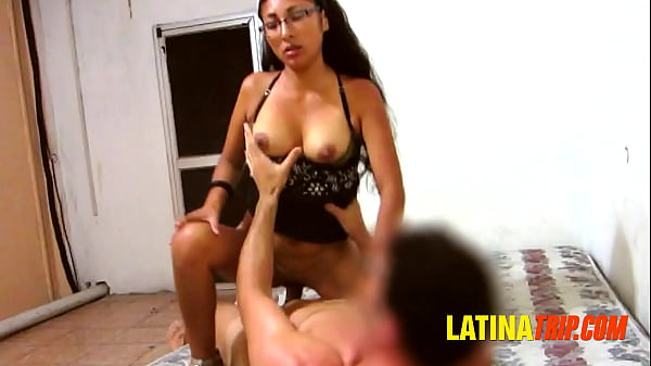 Busty Mexican Hooker Riding My Cock In High Heels