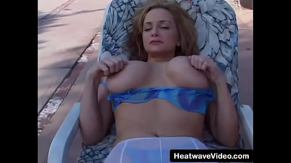 Stepmom gets out her big boobs for her stepson