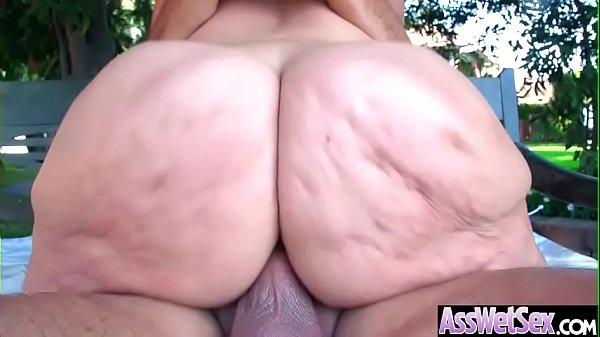 Hard Analy Banged On Cam A Sluty Big Round Ass Girl (Alena Croft) video-04