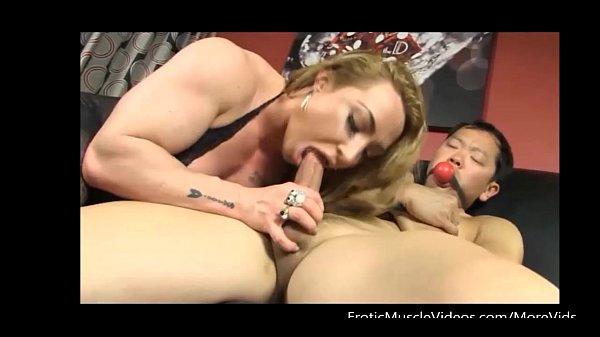 EroticMuscleVideos BrandiMaes Muscle Slave Part 1