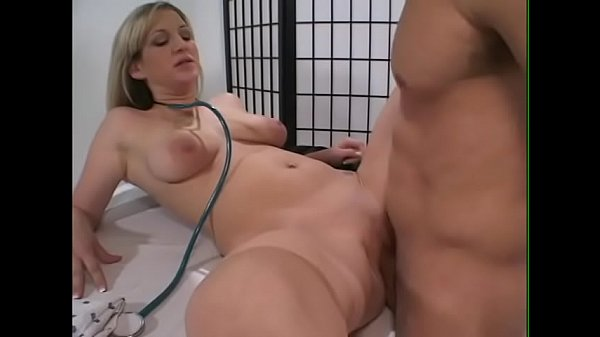 Health care professional Stacy takes good care of her patient in the examination room