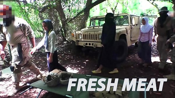 TOUR OF BOOTY - Fresh Arab Pussy For These Horny American Soldiers Thumb