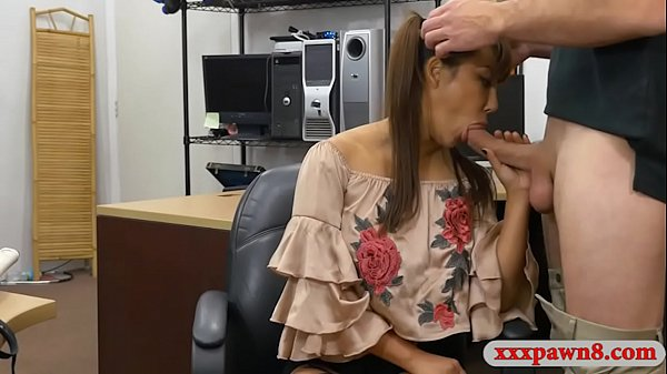 Sexy asian sells her samurai and pounded