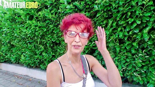 AMATEUR EURO - German Redhead Evelyn S. Allured...