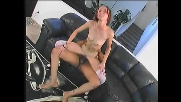 Curious schoolgirl with red hair Tracy Trixxx was dreaming for some years about hard black dong jamming her wet pink treasure box Thumb