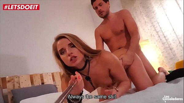 VIP SEX VAULT - Russian babe Sofi Goldfinger fucks couple in front of her ex husband (Sicilia Model) Thumb