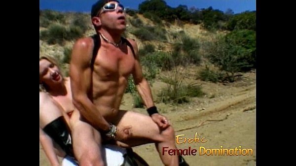 Kinky stallion has his tight asshole hammered by a hot blonde