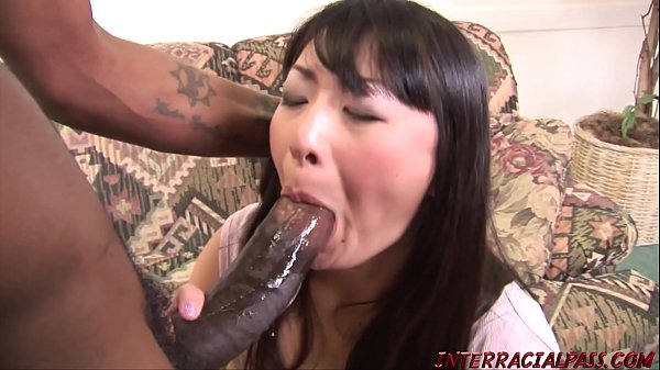 Housewife lets big black cock fuck her then swallows