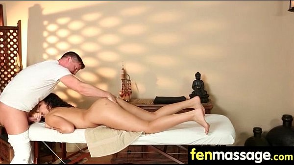 Husband Cheats with Masseuse in Room! 10