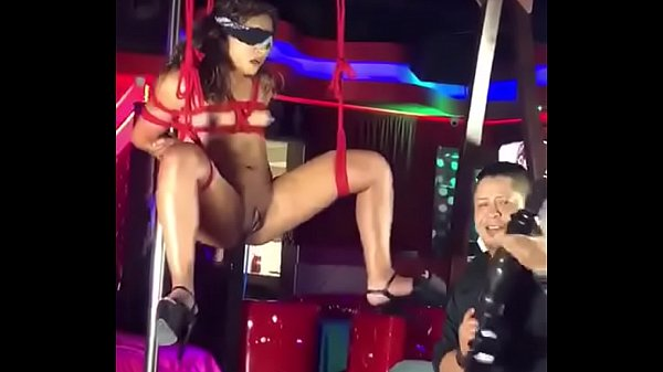Sexy fuck dolls in the strip club