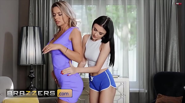 (Shalina Devine, Alya Stark) Enjoy Themselves With A Strap On During A Massage Session - Brazzers