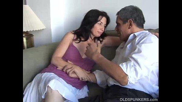 Gorgeous mature brunette loves the taste of cum