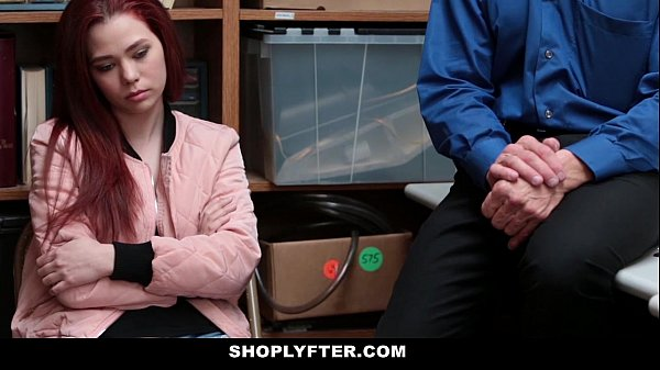 Shoplyfter - Teen (Cassidy Michaels) Strip Searched & Fucked by Creepy Man Thumb
