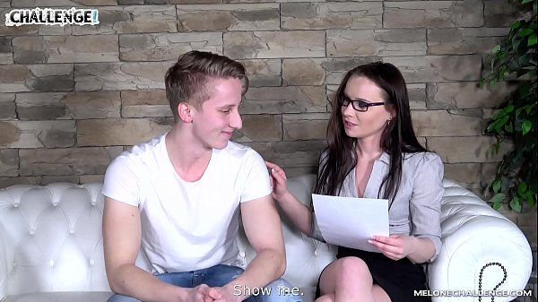 Melonechallenge Big young cock can not cum with Wendy Moon and fail