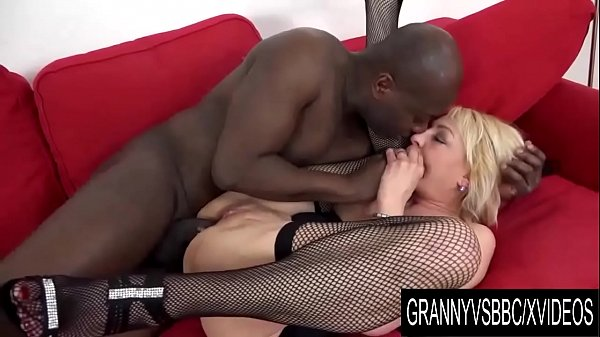Granny Vs BBC - Adriana Love Interracial Sex Ends with an Anal Creampie