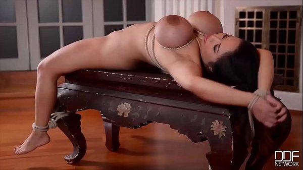 Dominatrix Karina Grand gives Hard anal to Samantha Blaze