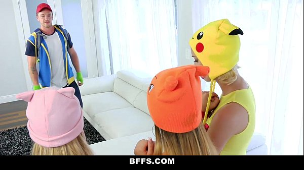 BFFS- Hot Pokemon Teens Fucked By PokemonGo Player