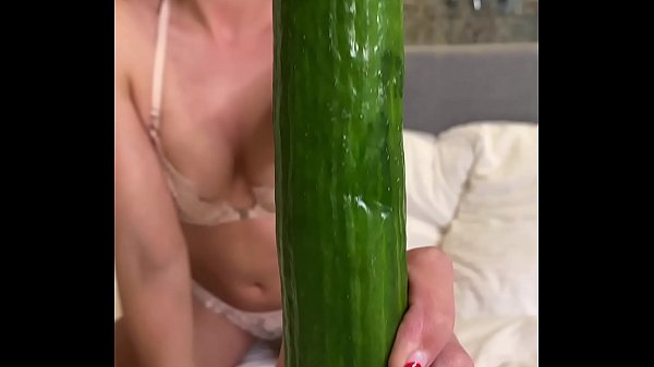 Cucumber Masturbation Thumb