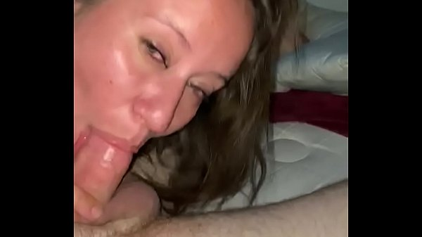 Watching as wife sucks our friends cock