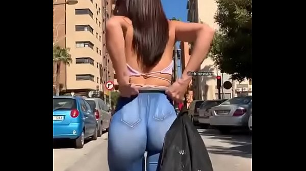 Pants all punched in the ass