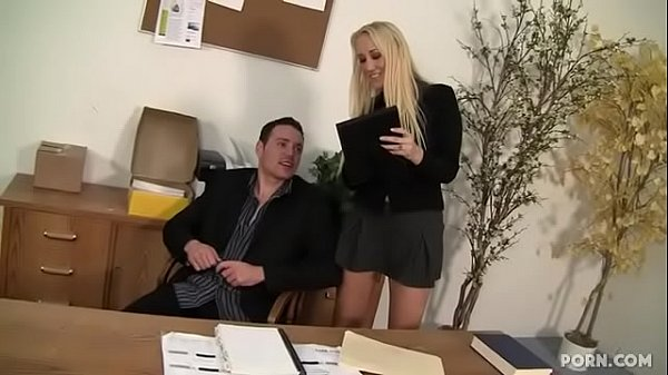 Busty MILF sex in the office Thumb