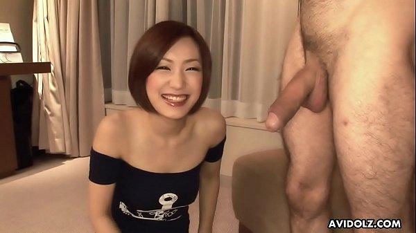 Nanako Haruna has never seen a non- Asian dick ...