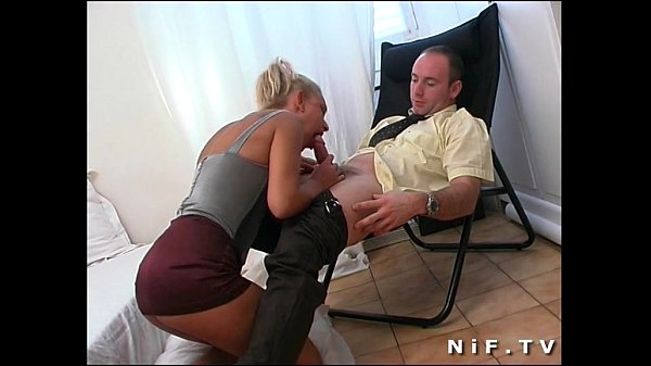 French babe Delfynn Delage gets her ass hammered