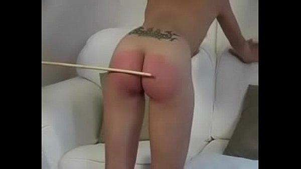 Spanking orgasm part 2