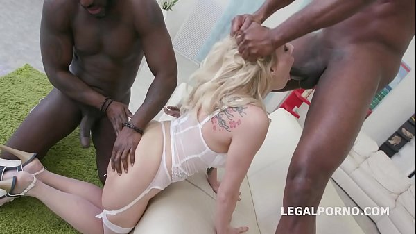 Barbarian Edition 6on1 Brittany Love total Ass destruction with Balls Deep Anal Thumb