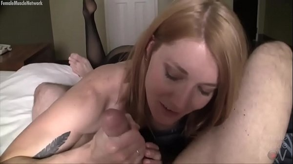 Fit Redhead t. Her Boyfriends Cock. No Cum For Him!