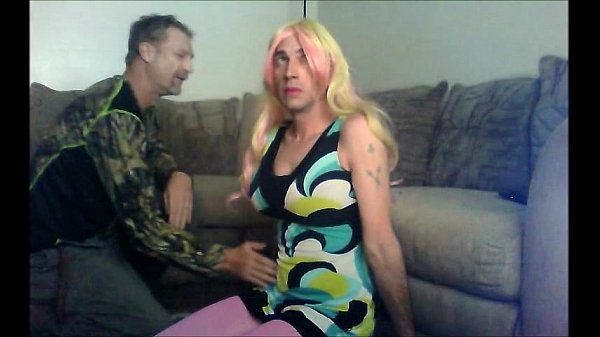 tv in cute dress sucks cock and fucked hard wit...