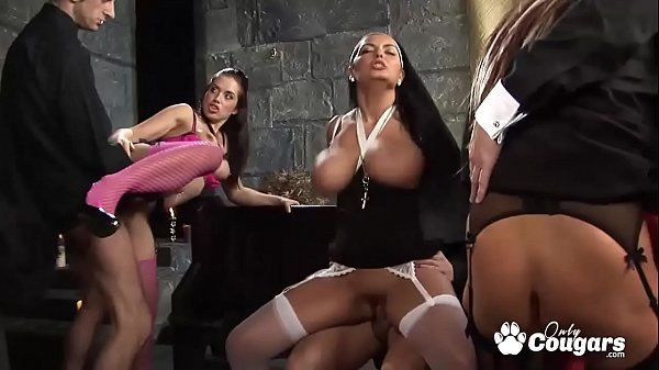Horny Nuns Cut Loose And Have A Crazy Anal Orgy...