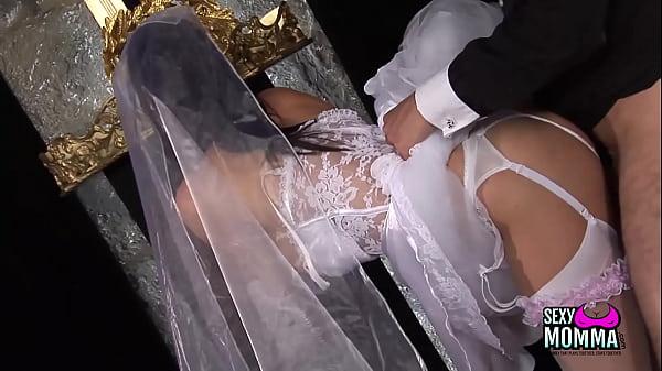Horny bride gets a hard fuck Thumb