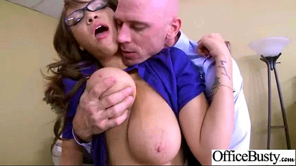 Hard Sex In Office With Slut Big Juggs Girl (cassidy banks) clip-12