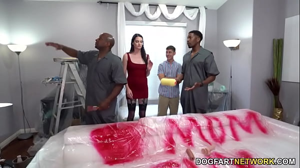 Painters With Big Black Cock Pound Horny Mom Ar...