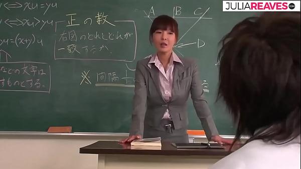 Tokio female teacher fucks in the class room, japanese uncensored movie