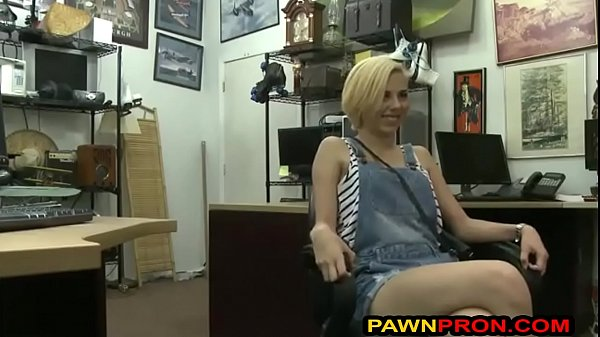 Perky Blonde Lady Shows What She Can do for Money Thumb