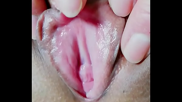 Pink tight pussy play