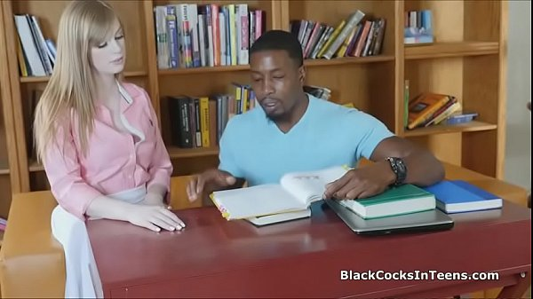 Coed craves for a big black cock