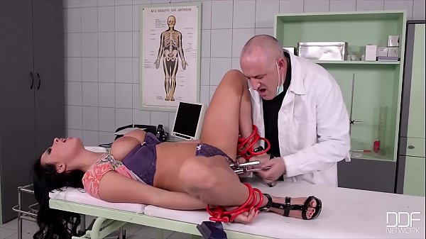 XXXtreme fetish scene with redhead submissive Isabel Dean's BDSM training