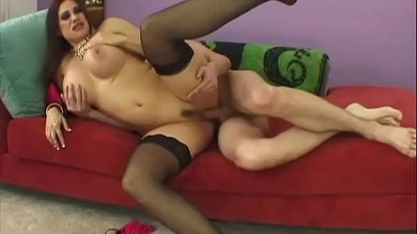 Sheila Marie, a milf with big tits, has been fitted with straps and high heels today to see how it works … not only her openings have some of it our eyes too …