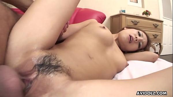 Japanese chick, Ramu Nagatsuki got fucked, uncensored