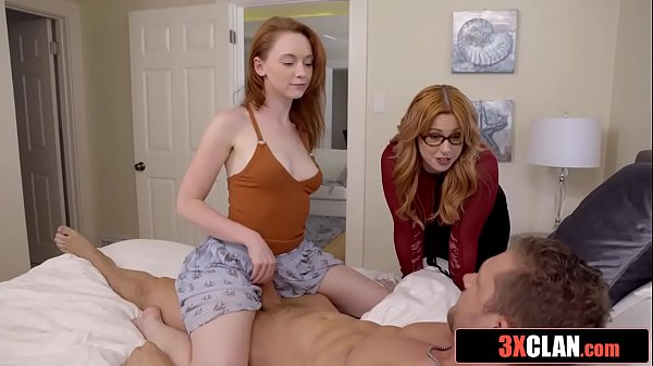 His Stepmom and Stepsister Really Want To Fuck ...