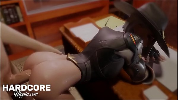 Overwatch ASHE Getting Hardcore ASS Action