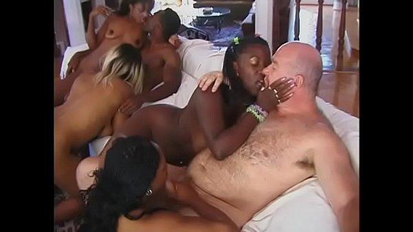 Black White Orgy