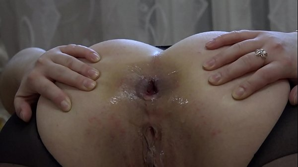 A bottle in anal and a huge dildo in pussy for a bright orgasm. Homemade masturbation and stretching insatiable holes. Gaping ass and gaping cunt