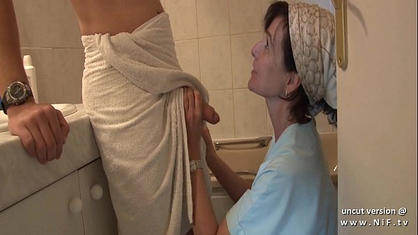 French mom seduces young guy with big cock and ...