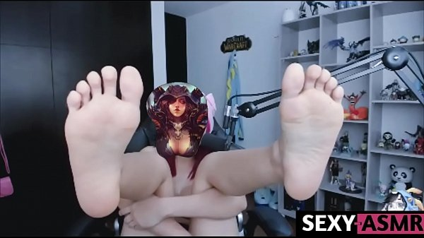 Pirate Roleplay Licking ASMR with Feet